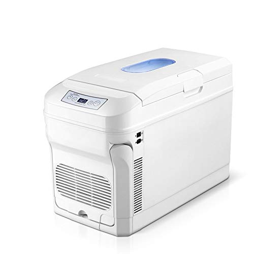 SUIWO Compact Car Frigoriferi Frigorifero Frigorifero Portatile Compatto Personal Frigo, Cools e riscalda, 35L capacità, 12V24V Eco Friendly, Include Tappi for casa Outlet