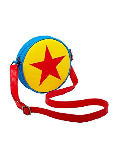 "Tvmoviegifts Disney Pixar Toy Story Luxo Ball Crossbody Bag, White, 8 1/4"" x 7"""