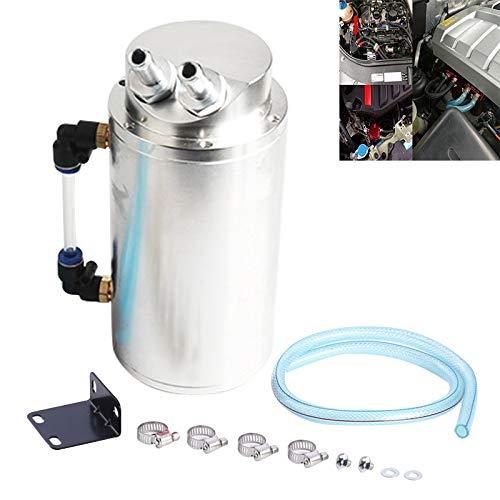 Brandstoffilter Automotive Ronde Oliefilter Pot Vermogen Gemodificeerde Motorolie Ademende Pot, voor auto's Kleur: wit