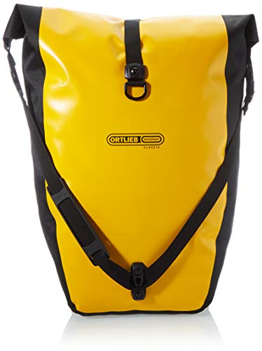 Ortlieb Unisex-Adult Velocity City - Backpacks, sunyellow - Black, One Size
