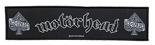 Motörhead Aufnäher - Ace Of Spades - Motörhead Patch - Stripe Gewebt & Lizenziert !!