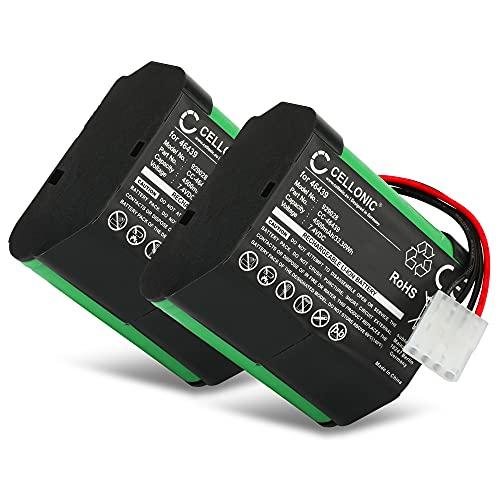 subtel 2X Staubsauger Ersatz Akku für Vorwerk Kobold VR100-7.4V, 4500mAh, Li Ion 46439, 46439, SCM61932 Ersatzakku Batterie