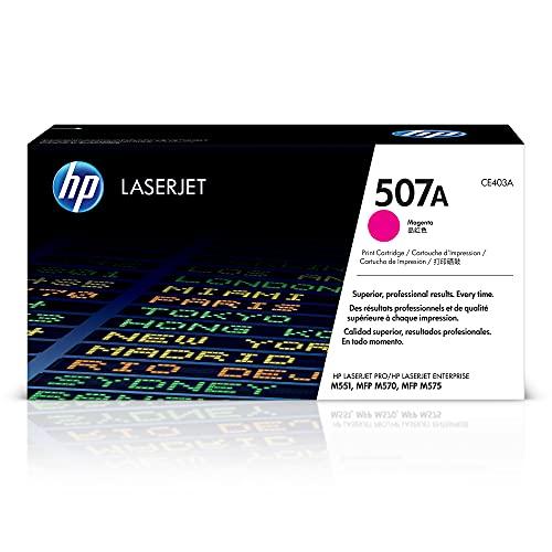 HP 507A | CE403A | Toner-Cartridge | Magenta | Works with HP LaserJet Enterprise 500, 551, 570 series