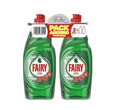 Fairy Ultra-concentrated washing up liquid 650 ml