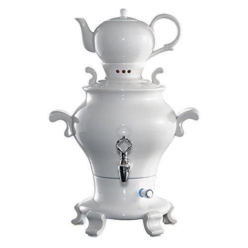 Samowar Odette Blanc, Porzellan, Weiß, Typ: SA4.5.1