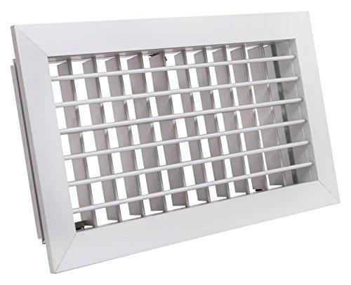 Tradair 0111HVBSF3015 Rejilla, Blanco, 33,2 x 2,6 x 18,2 cm