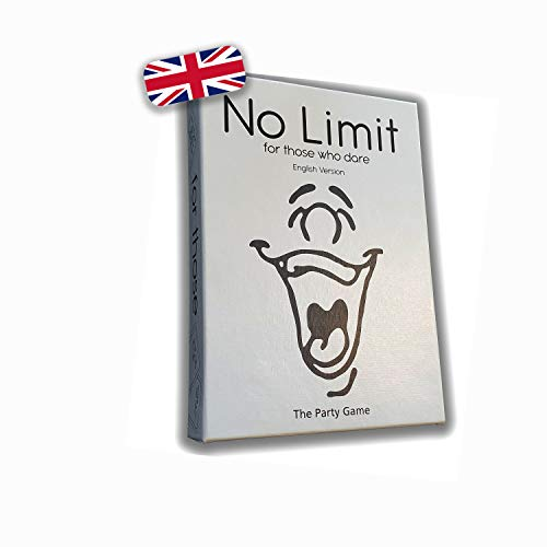 No Limit - for Those Who Dare – Party Game – Drinking Game – Card Game – Similar to Truth or Dare – Fun Game – Celebrate - English Version