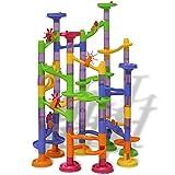 LONGMHKO Konstruktions- BAU-Spielzeuge Murmelbahn Kugelbahn Kinderspielzeug Altersempfehlung: ab 3...