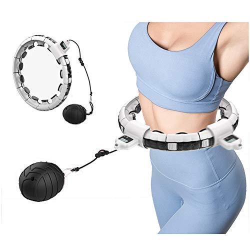 LeeBZ Smart Hula Hoop Hula Hoop Reifen Erwachsene Einstellbare Größe Abnehmbare Effiziente Fettverbrennung Für Massage Fitness