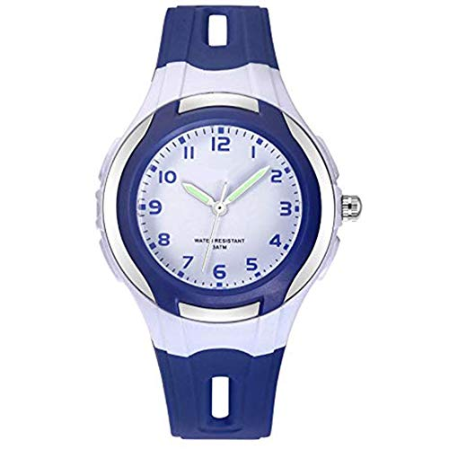 Homeofying Reloj De Pulsera De Gelatina De Cuarzo Resistente