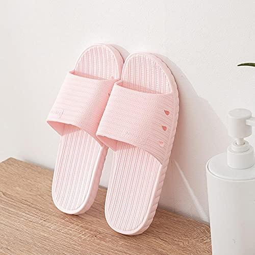 DDTT Zapatos de Playa Piscina para Hombre,Zapatillas de baño Antideslizantes, Sandalias Suaves sin Fondo-Color Carne_38-39,Antideslizantes Chanclas