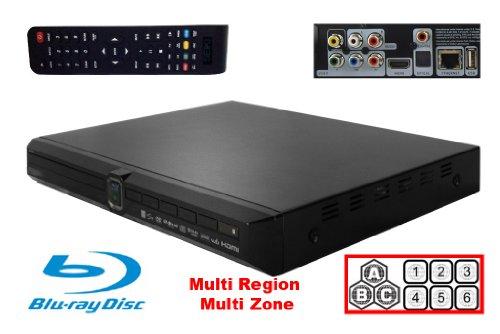 Best Price! Seiki Multi Region BluRay DVD Player (120 - 240 V)