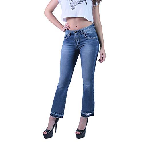 Klixs jeans Giusy Ripped Jeans Blu Da Donna 1500BC