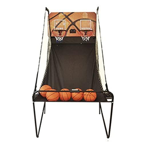 Conjunto de juegos de baloncesto de Arcade para ni Juego de baloncesto en interiores - Arcade de baloncesto de doble disparo Aro de baloncesto interior para niños - Juego de arcade de baloncesto premi