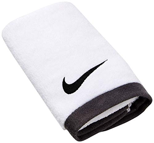 Nike FUNDAMENTAL Towel Medium White/Black, Multicolor, One Size