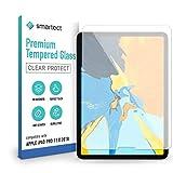smartect Cristal Templado para Móvil Apple iPad Pro 2018 (11.0) - Protector de pantalla 9H - Diseño ultrafino - Instalación sin burbujas - Anti-huella