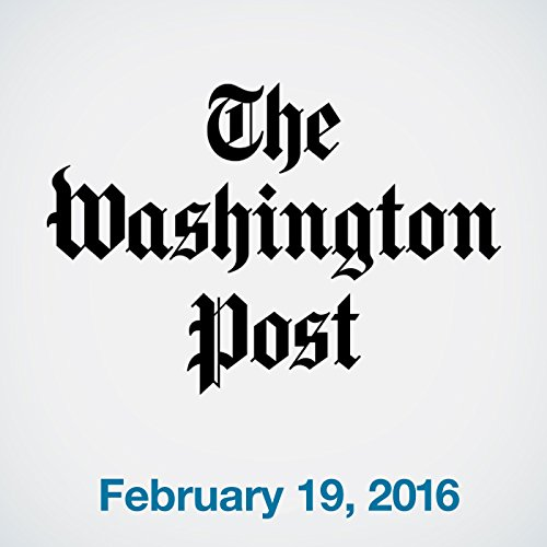 Top Stories Daily from The Washington Post, February 19, 2016 copertina