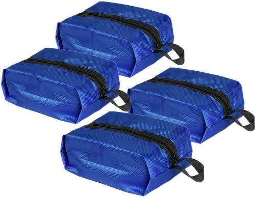 HiDay 4pcs Portatile Impermeabile Borsa Scarpe di Viaggio Sacchetto Organizzatore con Chiusura a Cerniera