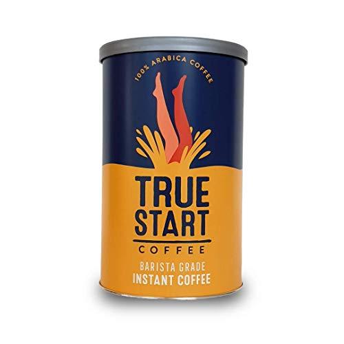 TrueStart Barista Grade Instant Coffee - 100g (50 Cups), Premium Freeze Dried Coffee, Smooth Rich Roast, 100% Colombian Arabica Coffee