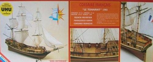 Soclaine Le Tonnant - Maqueta de Barco velero