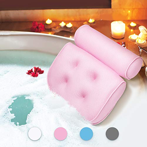 Large Spa 3D Air Mesh Bath Pillow