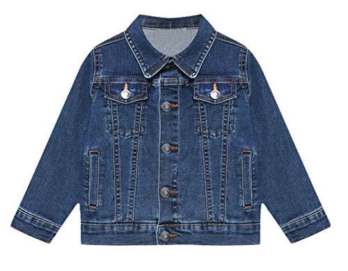 Kinderen Baby Jongens Meisjes Jas Ontwerper Denim Stijl Stijlvolle Mode Trendy Jeans Jassen Jassen Nieuwe Leeftijd 0 1 2 3 4 5 6 7 8 9 10 11 12 Jaar
