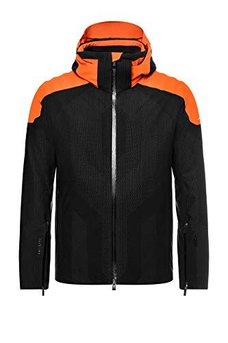 Kjus Men Freelite Jacket Schwarz, Herren Regenjacke, Größe 48 - Farbe Black - Kjus Orange