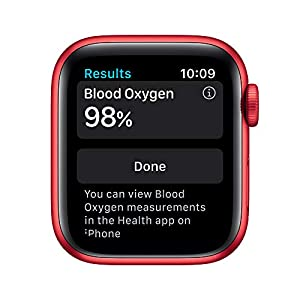 AppleWatch Series 6 (GPS, 40mm) - (Product) RED - Aluminum Case with (Product) RED - Sport Band