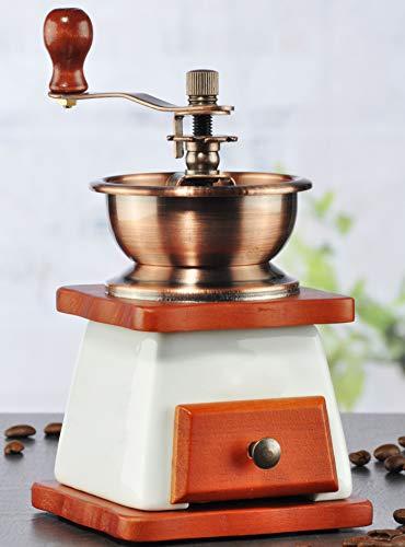Antik Look Kaffeemühle Espressomühle Kaffee Retro Mühle Keramik Mahlwerk
