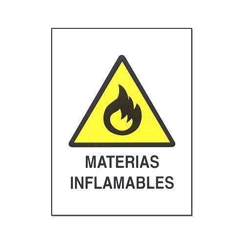 Cv Tools 0219 - Cartel pvc 40x30 materias inflamables