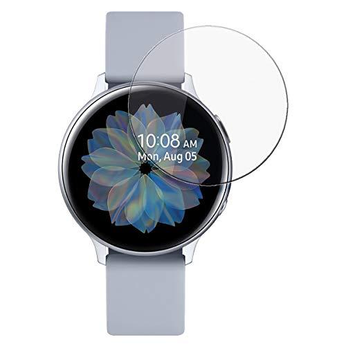 disGuard Schutzfolie für Samsung Galaxy Watch Active 2 (40mm) [3 Stück] Kristall-Klar, Displayschutzfolie, Glasfolie, Panzerglas-Folie, Displayschutz, extrem Kratzfest, Schutz vor Kratzer, transparent