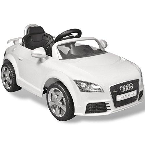 RC Kinderauto kaufen Kinderauto Bild 1: vidaXL Kinder Elektroauto mit Fernbedienung Weiß Kinderfahrzeug Kinderauto*