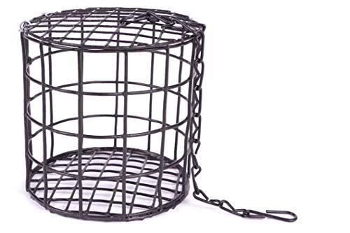 Riesen - Meisenknödelhalter von Pfiffikus | Vogelfutterspender für unsere großen Meisenknödel ohne Netz zum Aufhängen | Knödelhalter Wildvogelfutter | Vogelfutterhaus Futterstation für heimische Vögel