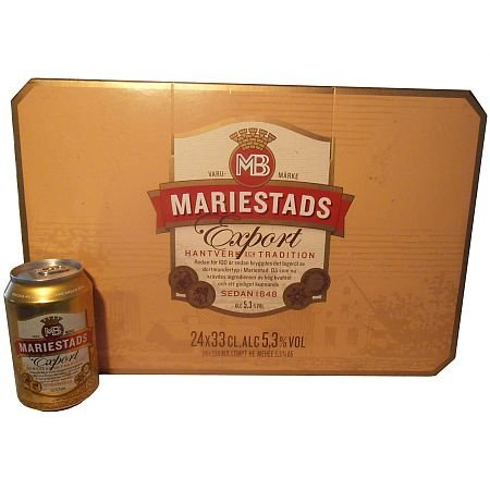Mariestads Export Bier 24X0,33l Tray 5,3%