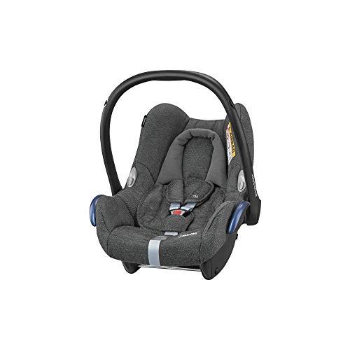 Maxi-Cosi CabrioFix, Silla de auto, reclinable y seguro para bebé, 0-12 meses, 0-13 kg, Sparkling Grey (gris)