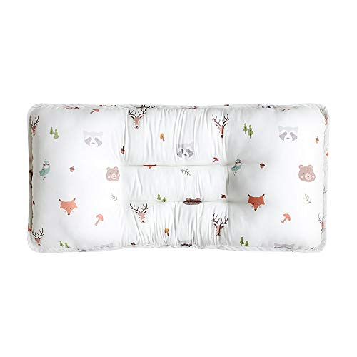 Kids Double Pillow Breathable 3D Air Mesh Modal Double Sided Reversible Pillows All Season 10.6' X 21.6' Bebe Face