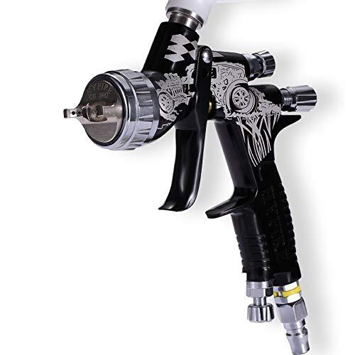 HYFIRE GTI PRO LITE TE20 1.3mm Nozzle Car Paint Tool Spray Gun Set NEW