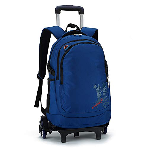 LYZL Schoolchildren's Trolley Bag niño y niña de Doble Uso Bolsa de...
