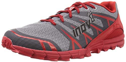 Inov-8 Zapatillas Ligeras Trail Running Cross Training Trailtalon 235 para Hombre, Hombre, 000714-GYRD-S-02, Gris y Rojo, 44