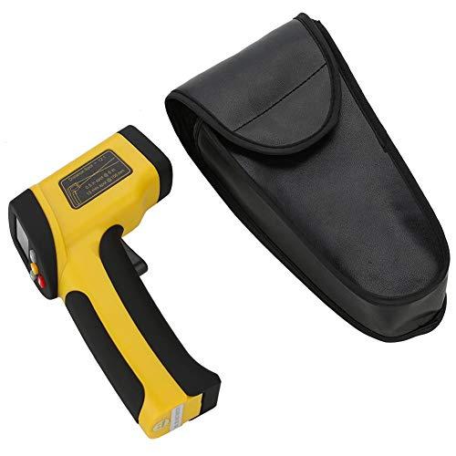Akozon Digital Infrarot Thermometer Handheld IR Laser -50 bis 1050 ° C / ° F Sichtfeld 12: 1Temperatur-Testgerät mit LCD-Anzeige(HT-819, -50~+1050℃)