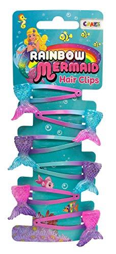CRAZE Mermaid Hair Clips Haarspangen Meerjungfrau Kinderschmuck Haarschmuck für Kinder 24218, mehrere Ausführungen