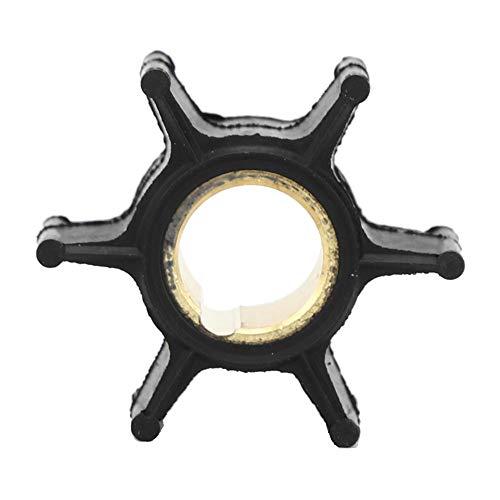 Yctze Wasserpumpenlaufrad, Gummi Kupfer Außenborder Motor Wasserpumpenlaufrad Teil 386084 Passend für Evinrude Johnson 2-Takt 4-Takt 9,9-15 PS Außenborder Zubehör