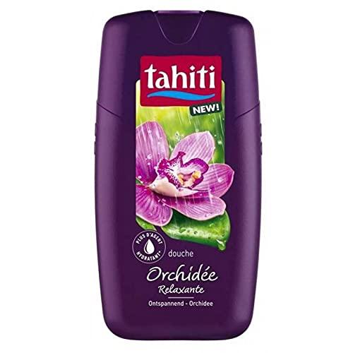 Tahiti Douche Orchidée Relaxante 250ml (lot de 4)