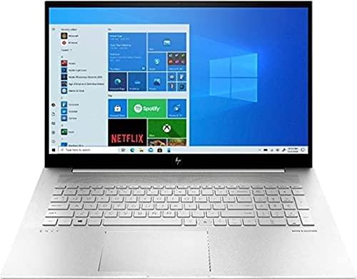 "HP Envy 17.3"" FHD IPS Touchscreen Laptop 11th Gen Intel Core i7-1165G7 12GB Memory 512GB SSD + 32GB Intel Optane Iris Xe Graphics Backlit Keyboard -Fingerprint Reader -Thunderbolt Natural Silver"