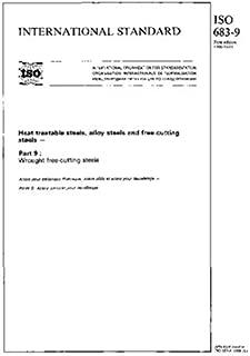 ISO 683-9:1988, Heat-treatable steels, alloy steels and free-cutting steels - Part 9 : Wrought free-cutting steels