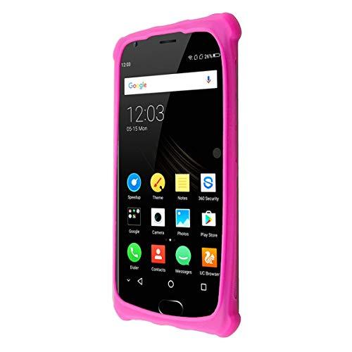 caseroxx TPU-Hülle für Oukitel K4000 Plus, Handy Hülle Tasche (TPU-Hülle in pink)