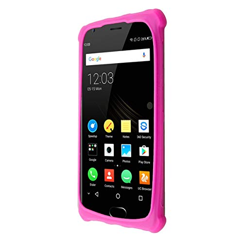 caseroxx TPU-Hülle für Oukitel K4000 Plus, Tasche (TPU-Hülle in pink)