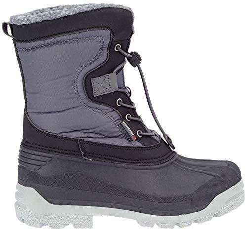 Winter-grip Schneestiefel Sr Canadian Explorer II Schwarz/Grau/Rot, Größenauswahl:44