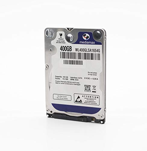 MediaMax 400GB interne Festplatte 2.5