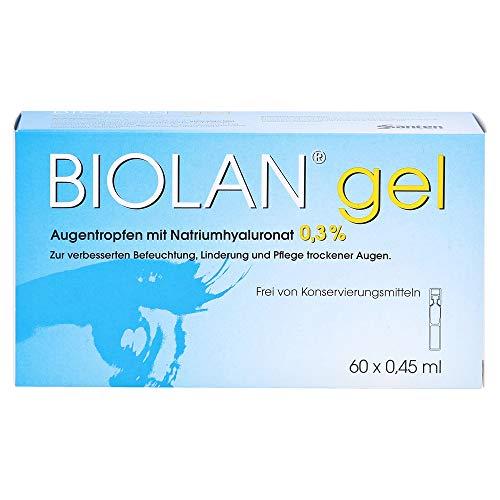 Biolan Gel Augentropfen, 60X0.45 ml